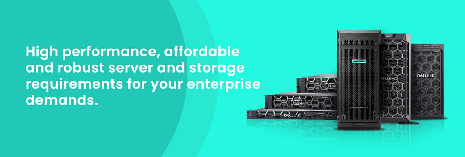 Server and Storage Solutions in Dubai | HP Server & HP Storage| Dell Server & Dell Storage
