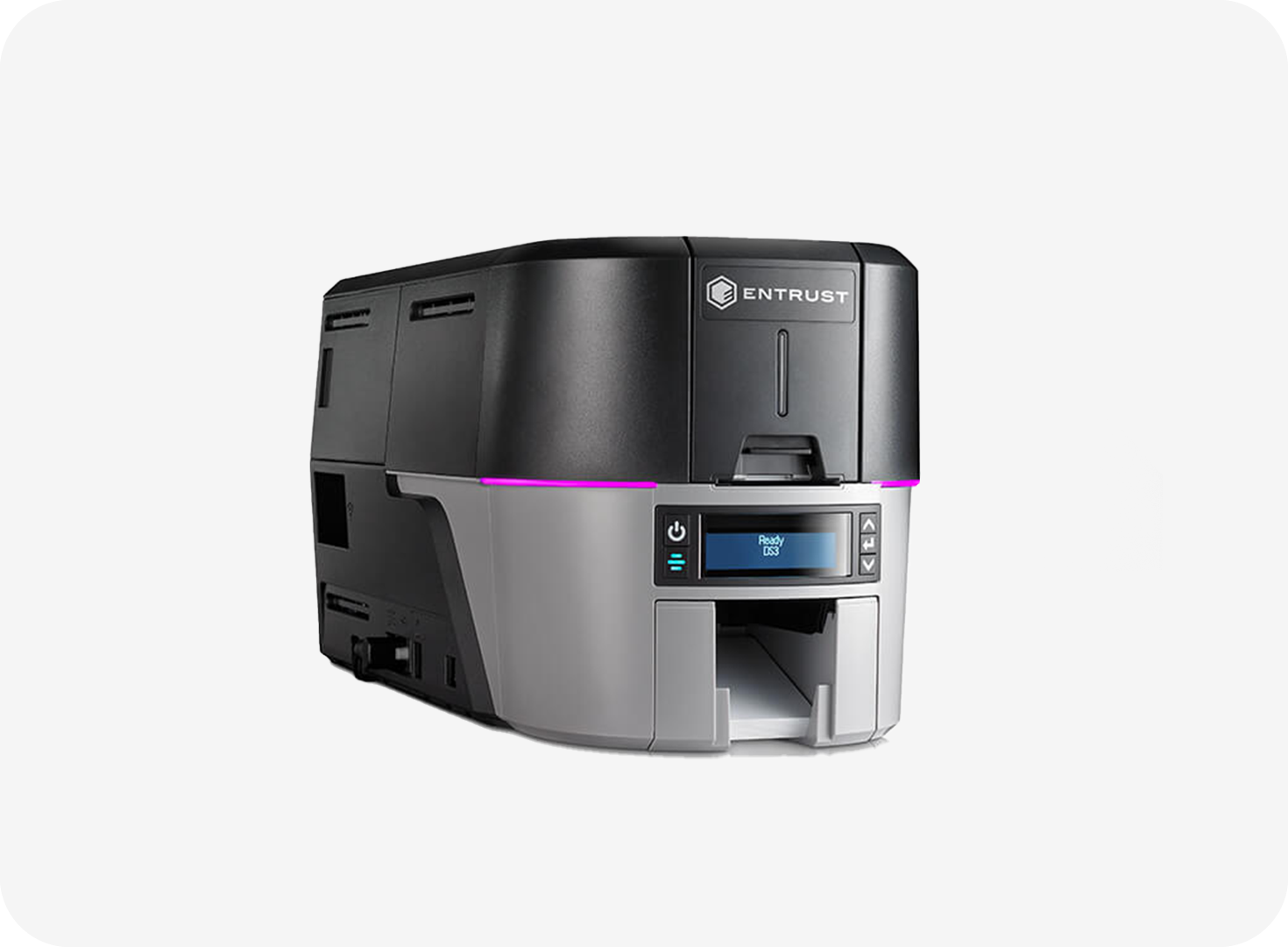 Entrust Sigma DS3 Direct to Card Printer with Tactile Impression Module