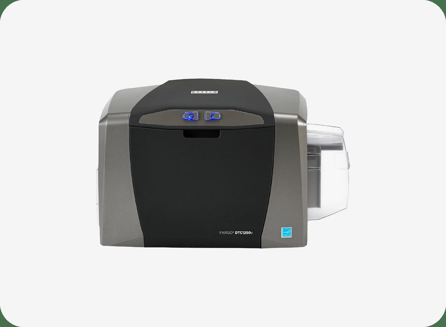 HID FARGO DTC1250e ID Direct to Card Printer & Encoder