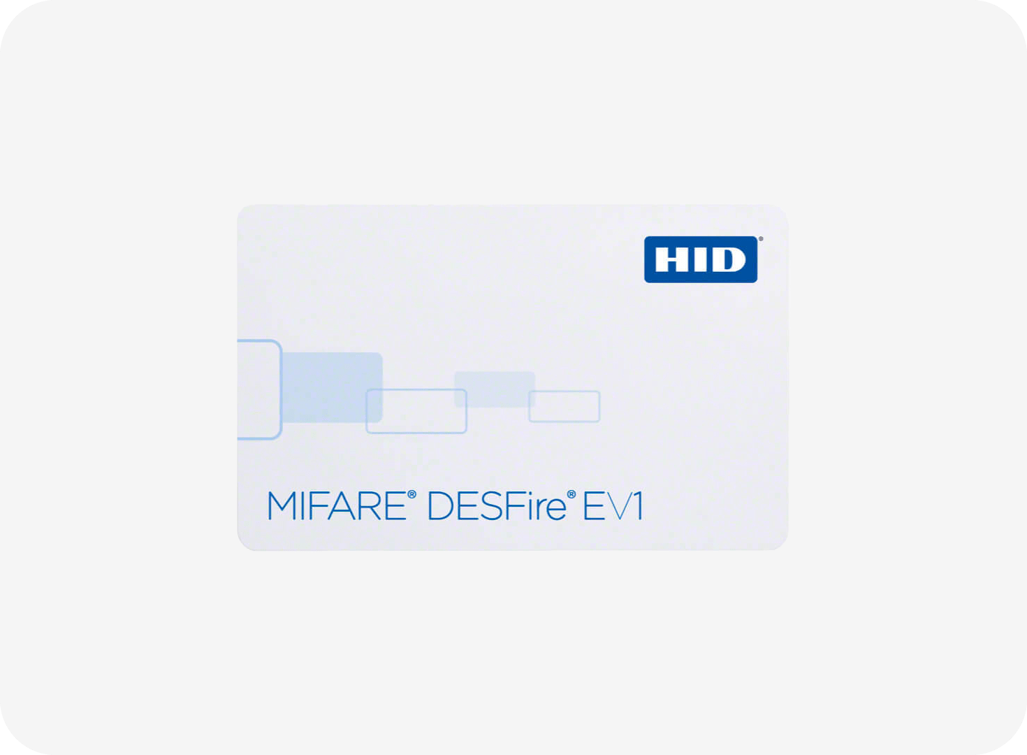 HID FlexSmart/MIFARE DESFire EV1 1450 Card