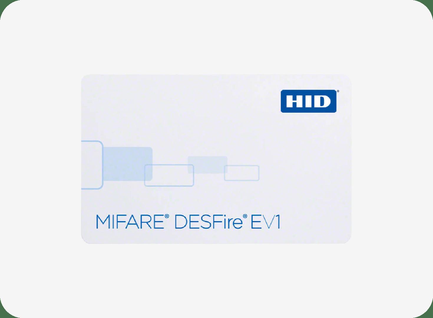 HID MIFARE DESFire EV1 / HID Prox Combo 1451 Card