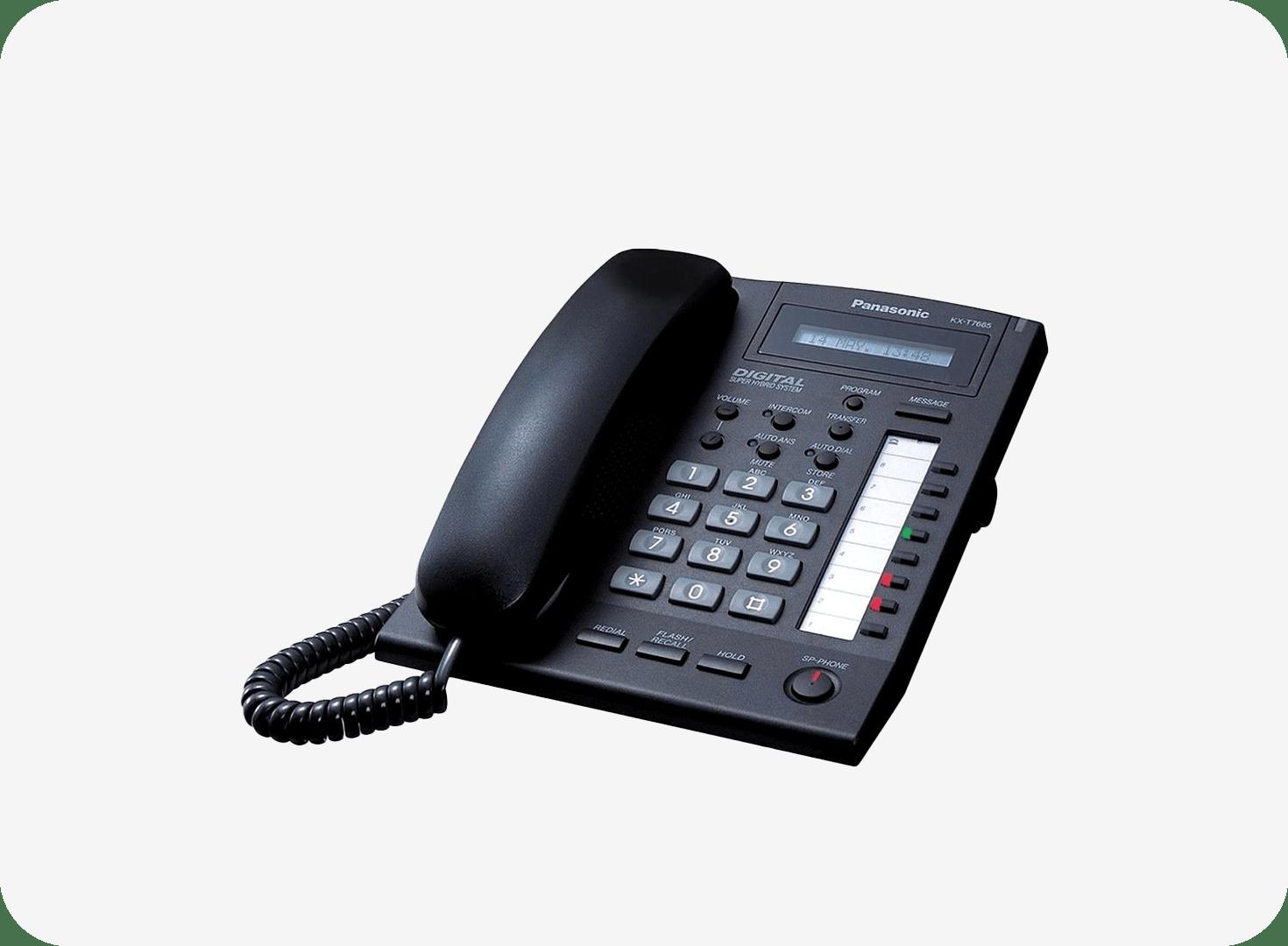 Panasonic kX T7665 Digital Proprietary Phone