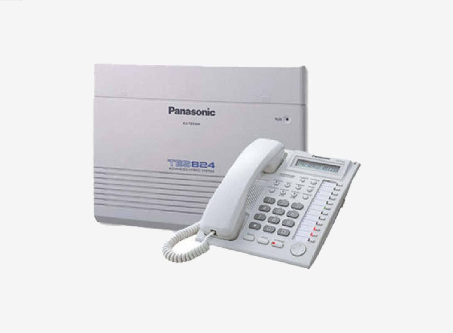 Panasonic KX TES824 Hybrid PBX System